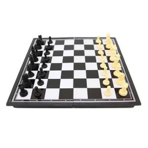 Игра 3в1 (шашки+шахматы+нарды) магнитная, доска 27х27см, высота короля 4.6 см