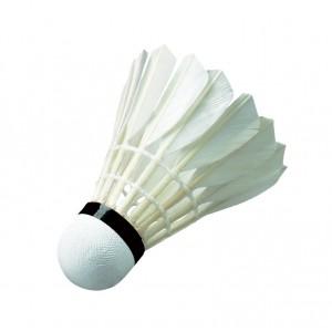 Волан FC-12, перо белое, 12шт