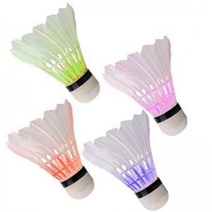 Волан LED, перо Светящееся, 6шт