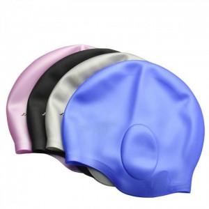 Шапочка для плавания многоцветная УШИ