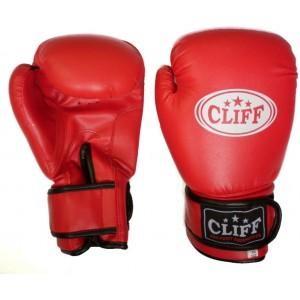 Перчатки для бокса Cliff 14 унций, красные