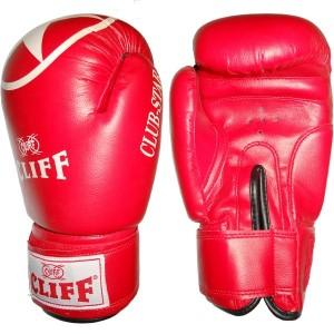 Перчатки для бокса Cliff 6 унций, красные