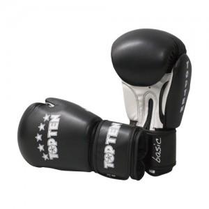 Перчатки для бокса Top Ten 12 унций черные