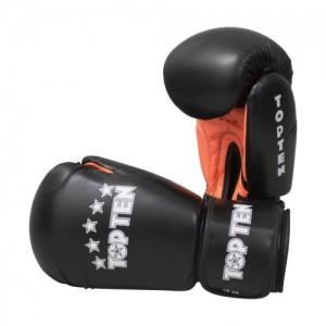 Перчатки для бокса Top Ten Basic 10 унций черные