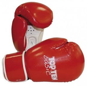Перчатки для бокса Top Ten Basic 10 унций красные