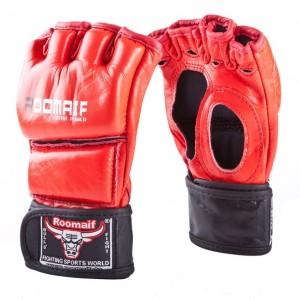 Перчатки боевые MMA кожаные