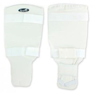 Защита голени и стопы эластичная SEMPAI размер М L, белая