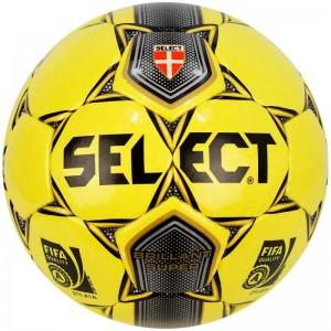 Мяч для футбола Select Super Brilliant №5, желтый, бутиловая камера, класс Люкс