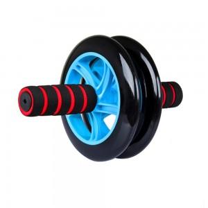Ролик гимнастический двойной Roller Wheel