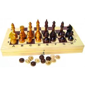 Набор игр 2в1, 295-145 деревянные г Владимир