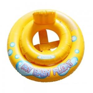 Круг плавательный Мой Маленький Плот Intex 59-574 67см, желтый