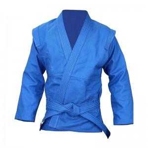 Куртка для самбо синяя