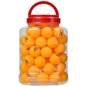 Мячи для настольного тенниса 3 звезда, 72шт в банке, белые.. Желтые. бесшовные