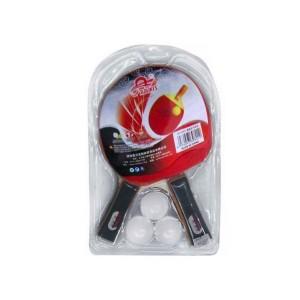 Набор для настольного тенниса 2 ракетки +3 шарика   в блистере  №8303