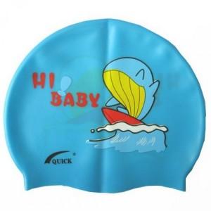 Шапочка для плавания детская c рисунком