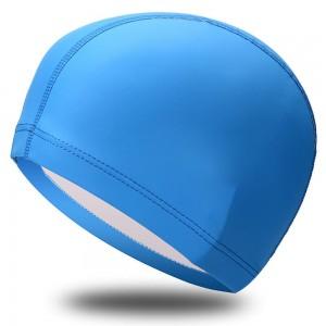 Шапочка для плавания, лайкра с полиуретановым покрытием