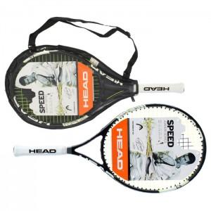 Ракетка для большого тенниса детская Head Novak 23 Gr06, для 6-8 лет, сине-черно-белая