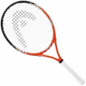 Ракетка для большого тенниса детская Head Radical 25 Gr07, для 8-10 лет, сине-красно-белая