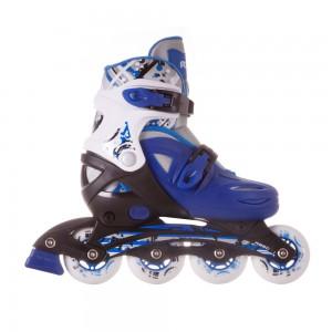 Раздвижные роликовые коньки Dream blue. violet  (26-30.31-35.36-40.)