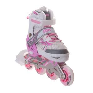Раздвижные роликовые коньки Fantasy pink (S (38-41)) 34-37.30-33