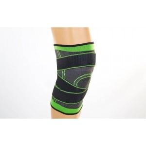 Суппорт колена с бинтом для дополнительной фиксации, материал: хлопок+нейлон