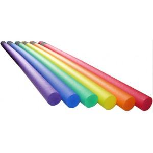 Нудл цветной (гибкая палка) длина 160 см, диаметр 7 см. Плотность 20 кг/м3
