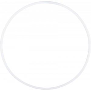 """Обруч гимн.""""ЭНСО"""" пластиковый d 800 мм, арт.MR-OPl800, белый, под обмотку, ТОЛЬКО УПАКОВ. ПО 5 ШТ"""