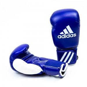 Перчатки боксерские ADIDAS Искуственная  кожа.Изготовлены в соответствии с требованиями федерации лю