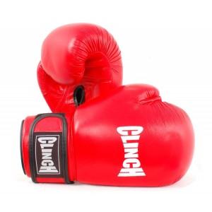 """Перчатки боксерские GLINCH 12 унц профессиональные, натуральная кожа """"COWHIDE GRADE A"""", композитный"""