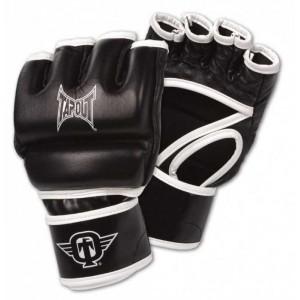 Перчатки для смешанных единоборств MMA Tapout шингарты. Открытая ладонь и свободный большой палец