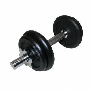 Гантель разборная 10 кг черная резина (~10 кг)