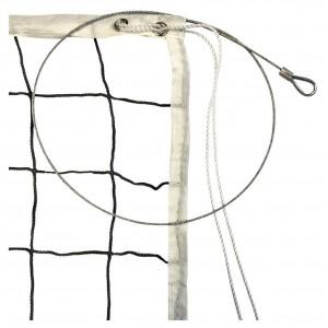 Сетка для волейбола профессиональная со стальным тросом