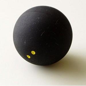 Мячик для игры в сквош. Жёлтая точка - слабый отскок (медленный) ABS-Н