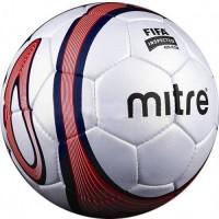 Мяч футбольный Mitre оранжевый, производство Пакистан, для соревнований и чемпионатов
