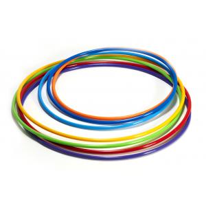 Обруч гимнастический пластиковый, диаметр 80 см