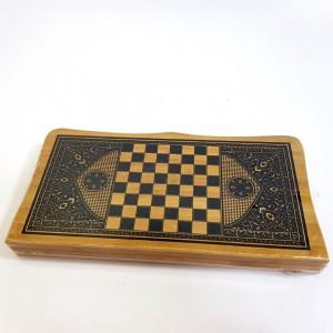 Нарды+шахматы бамбук