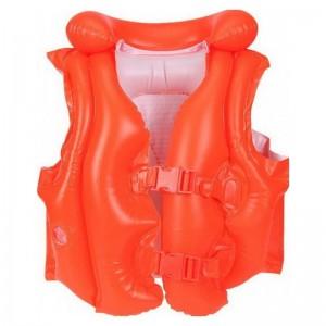 Жилет плавательный Intex 58-671, красный