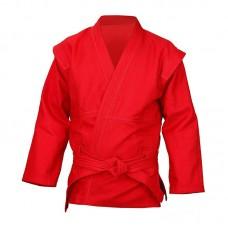 Куртка для самбо красная