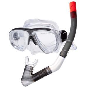 Комплект маска-трубка силикон Alpha Caprice MS-1320S25 04TS