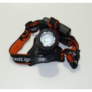 Налобный аккумуляторный фонарь SWAT
