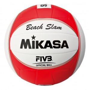 Мяч для волейбола Mikasа красно-синий