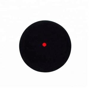 Мячик для игры в сквош. Красная точка - сильный отскок (средний) ABS-К